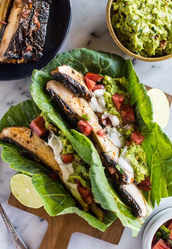 Skinny Taco Lettuce Boats pictures