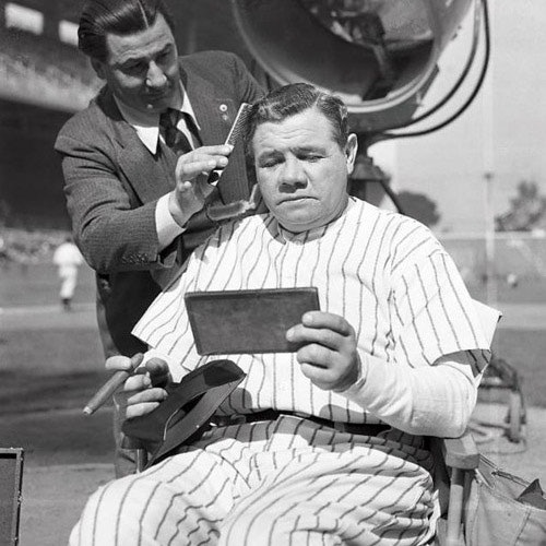 Why was babe ruth called the great bambino-8043