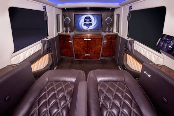 The 1 Million Mercedes Benz Armored Limo Is The Most Boss Ride Ever
