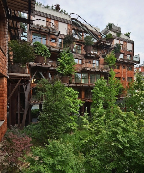 Treehouse Apartments: This Treehouse Apartment Complex Protects Residents From