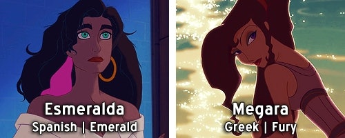 Disney Princess Names Mean Completely Different Things ...