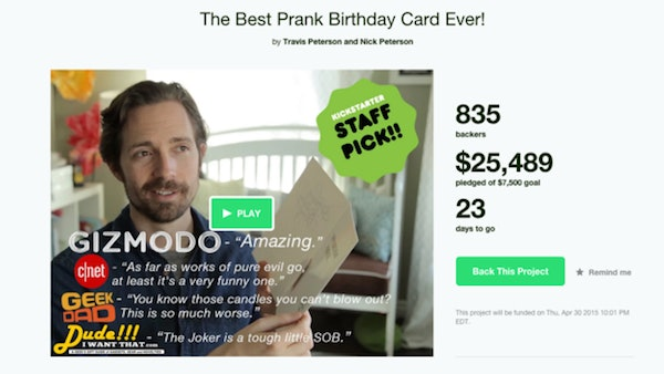 Citations This Evil Prank Birthday Card Will Play Music For Hours Until The Receiver Destroys It Buzzfeed