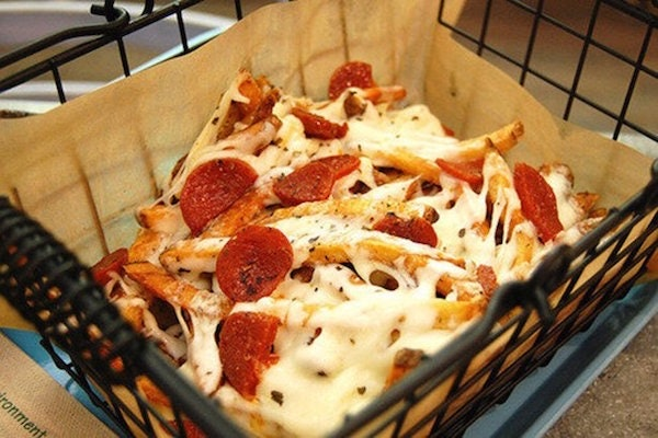 Deep Fried Pepperoni stock image. Image of beer, honey ...  Pepperoni Pizza French Fries
