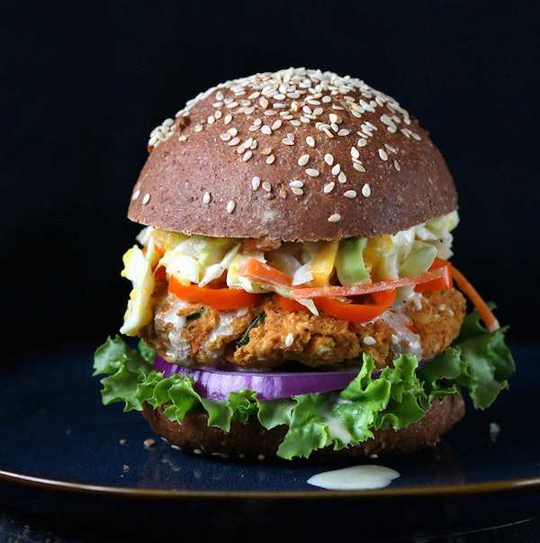 25 Mouthwatering Veggie Burgers Meat Lovers Can't Even Resist