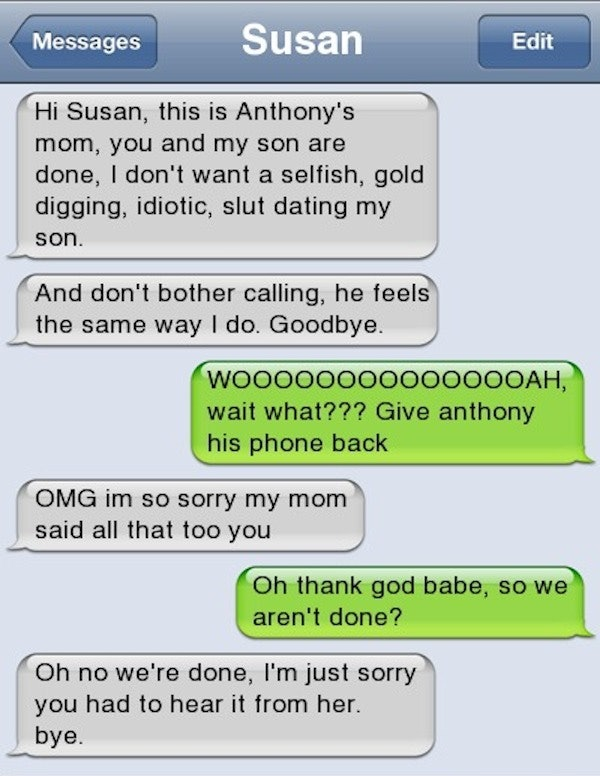 16 Break-Up Texts That Will Make You Thankful Youre