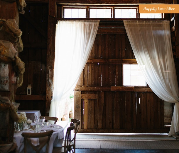 Happily Ever After: A Rustic Barn Wedding You'll Fall In