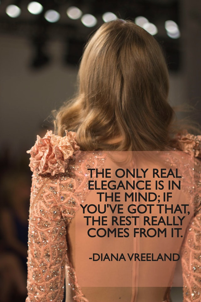 Nothing To Wear Let These Words From Fashion Icons Help Inspire You