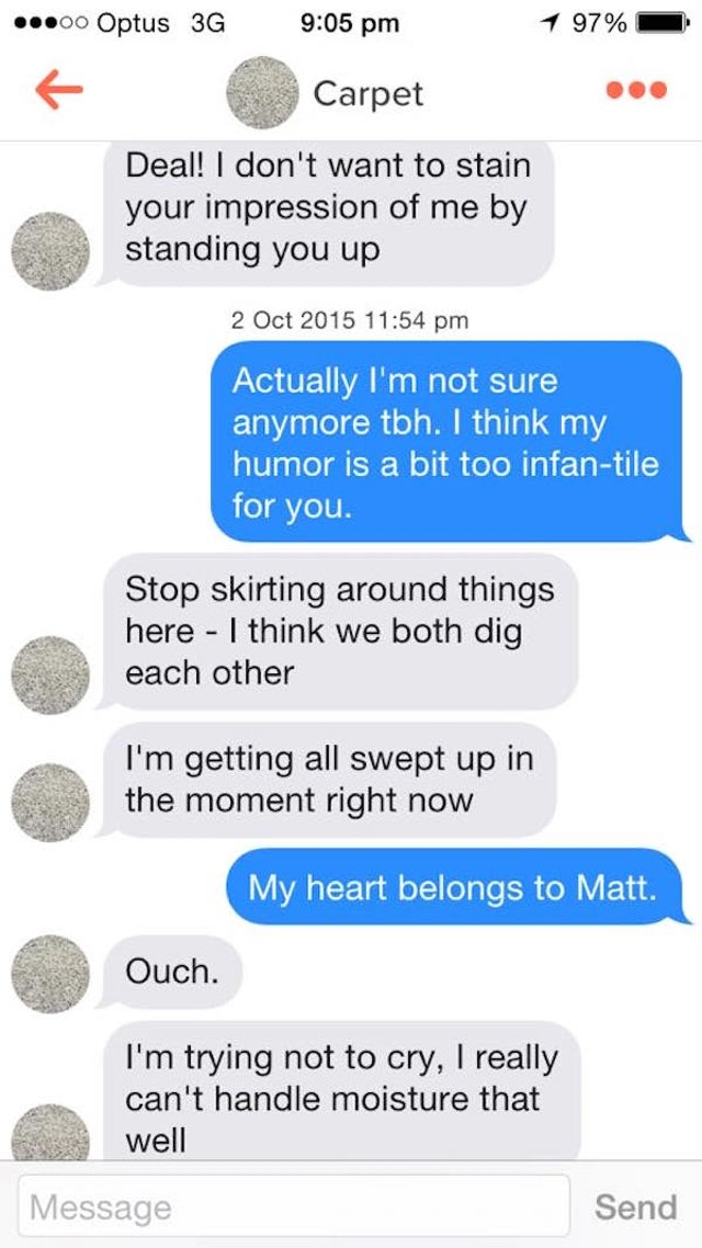 how to get close to someone on tinder