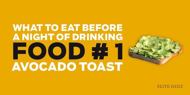 Should You Eat Potatos Before Drinking
