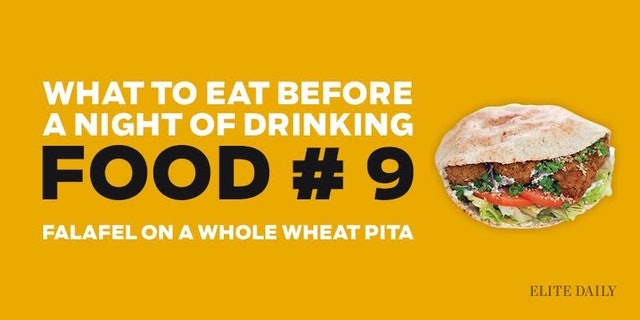 Good Foods To Eat Before Drinking Alcohol