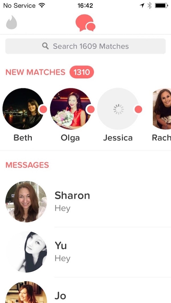 Getting No Matches On Tinder