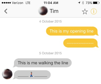 Opening lines on bumble