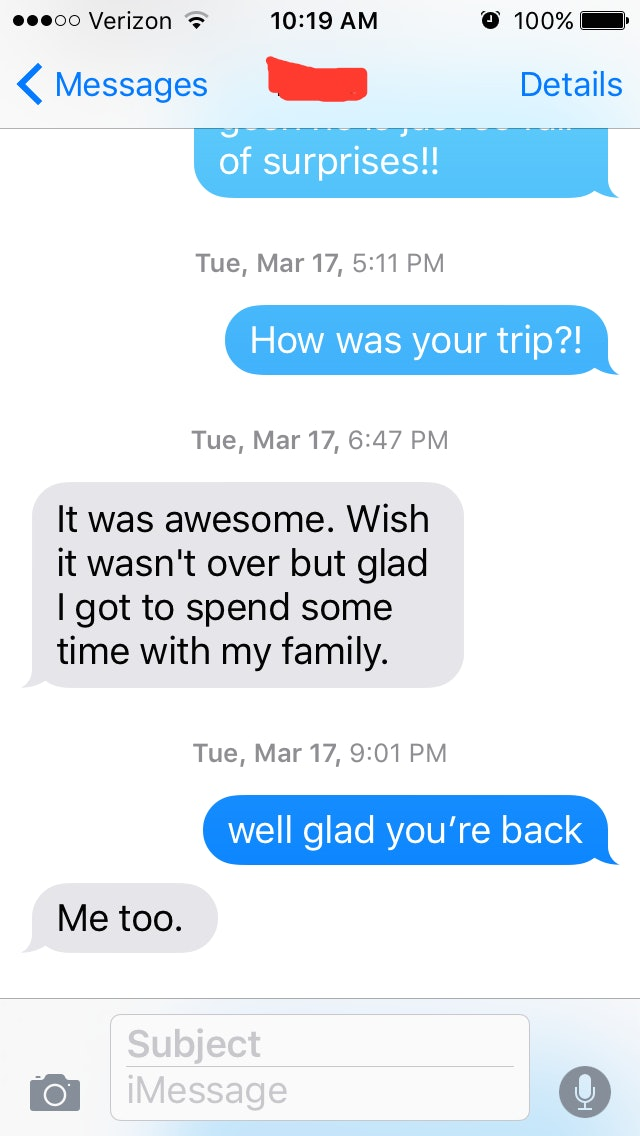 These Texts Show Peoples Last Words Before They Were