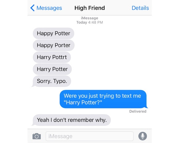 That S The Weed Talking 10 Signs Your Friend Is Texting You While High