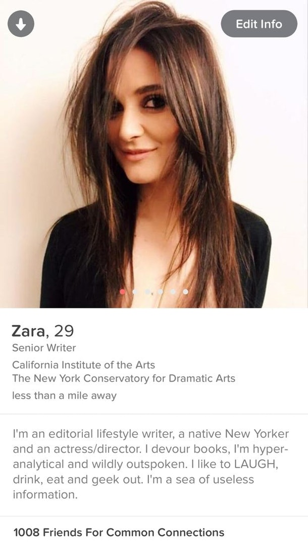 female tinder profiles