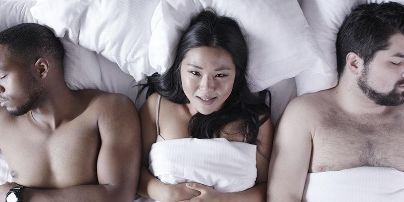 Girls pissing in thongs