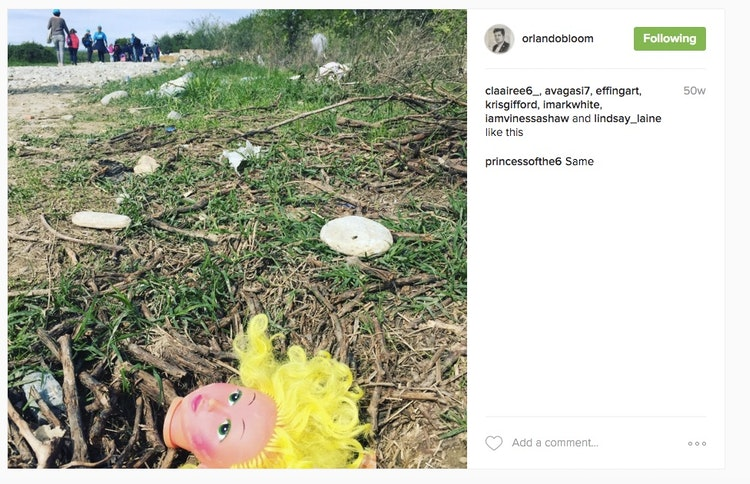 Orlando Bloom Brought Back His Legolas Blonde Hair