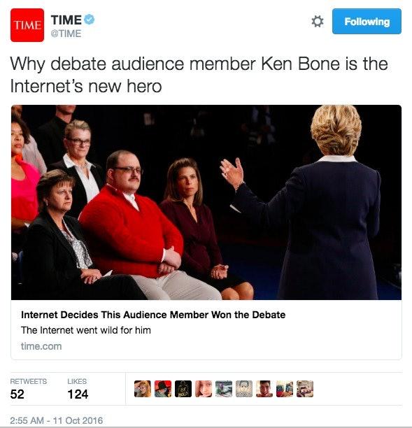 Internet's Favorite Ken Bone Gets Offered $100,000 To Be On Adult Cam Site