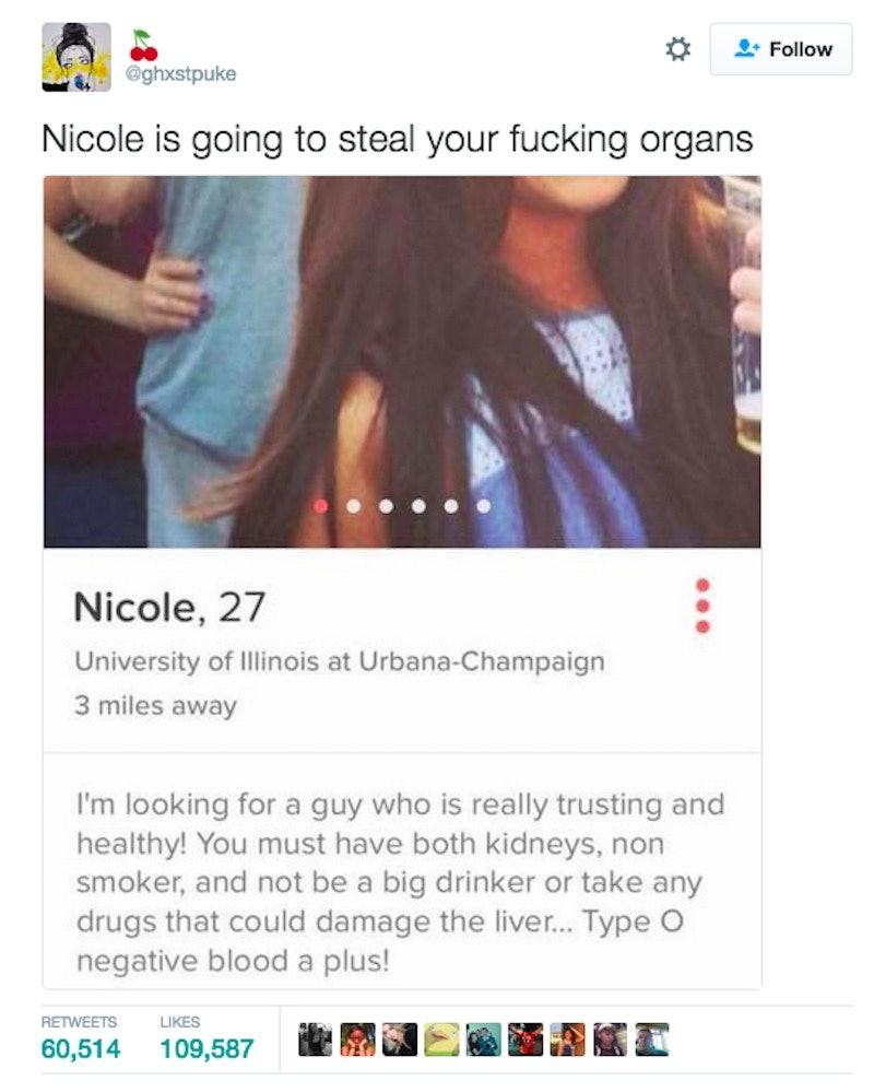 Fetish internal organs