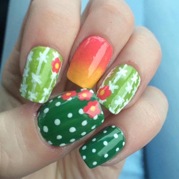 Succulent Nails Are The New Crazy Nail Art Trend