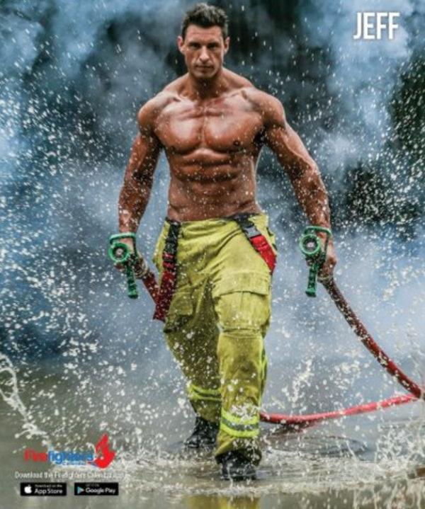 Nude firefighter calendars