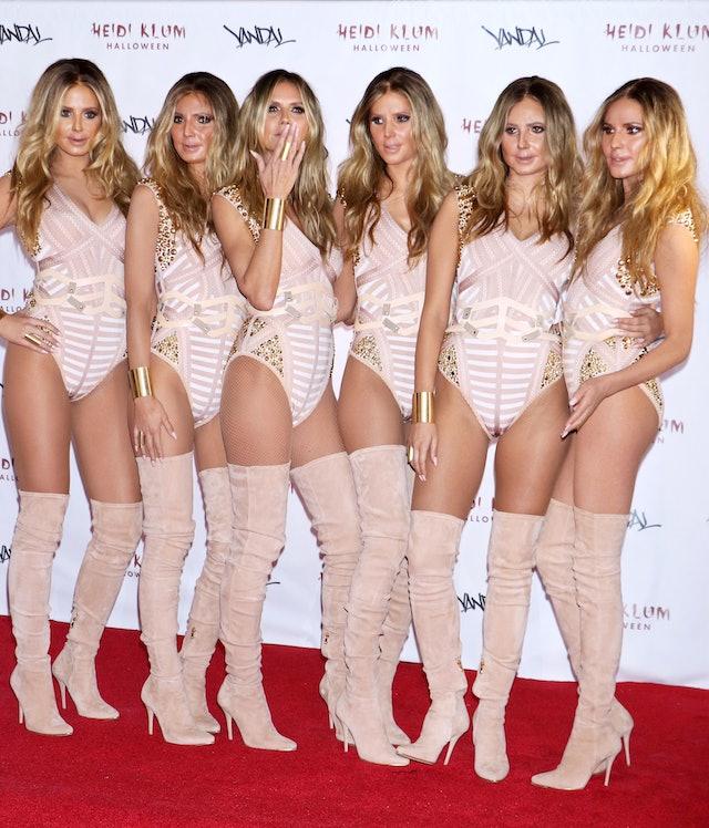 Heidi Klum's Halloween Costume Included Clones