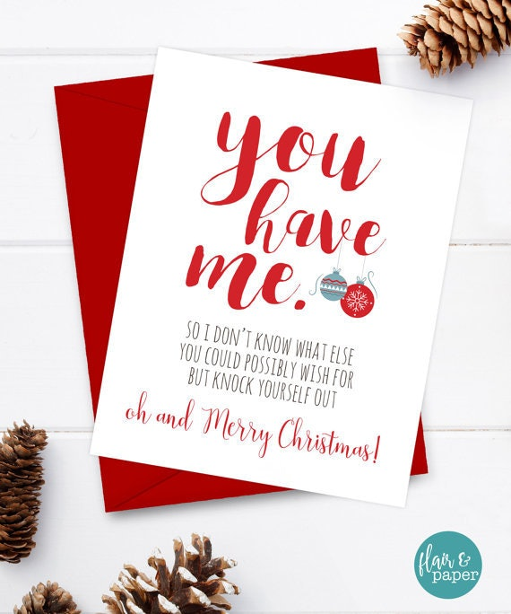 14 Naughty Holiday Cards That Will Make Your SO Laugh