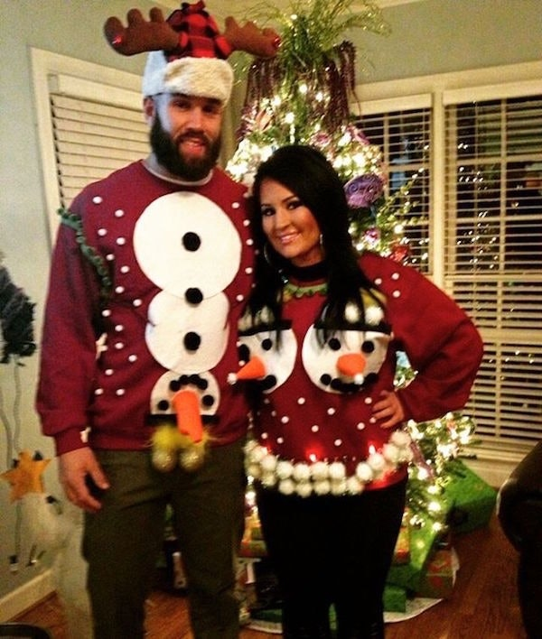 instagram - How To Decorate A Ugly Christmas Sweater