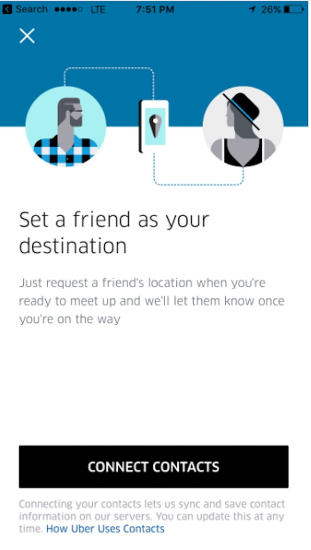 Uber To Person Feature Has You Ride To A Person, Not Place
