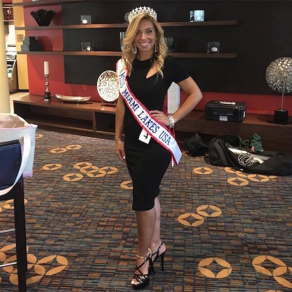 Beauty Queen Vanessa Barcelo Arrested After Baseball Bat