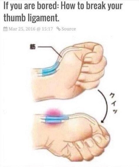 """Bildergebnis für break thumb"""""""