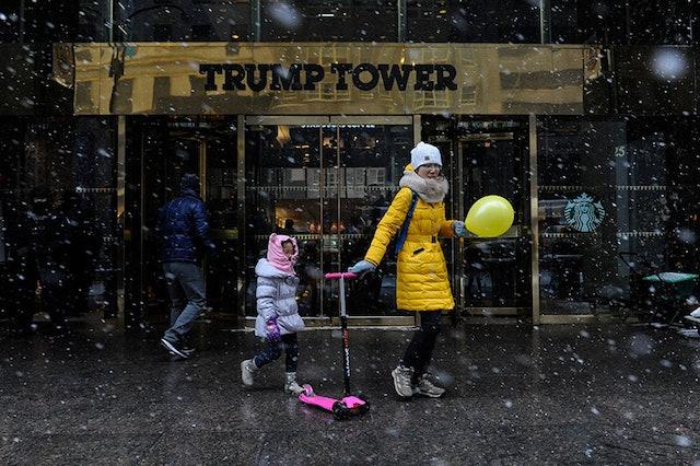 Photos: 2017's First Major Snowstorm On The East Coast