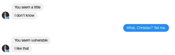 messenger társkereső chat