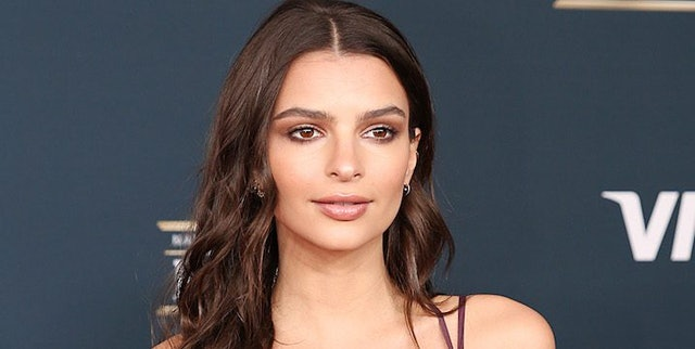 emily ratajkowski and others attend rally instead of oscars