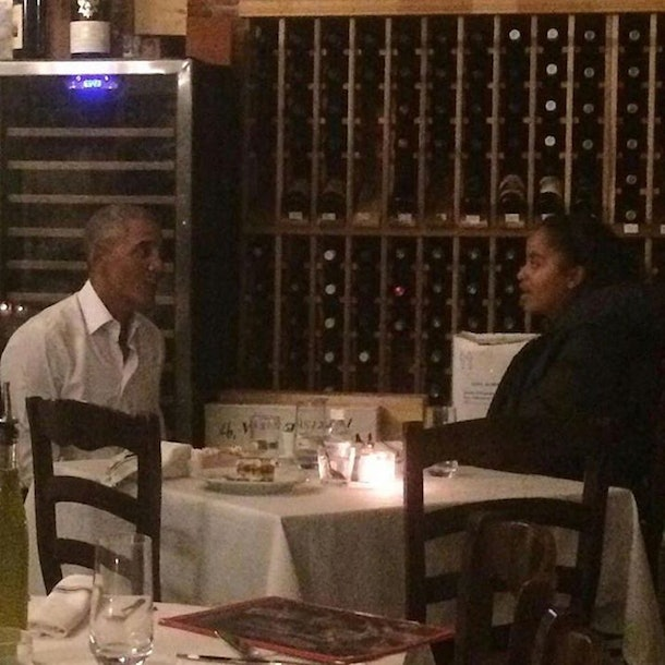 Barack And Malia Obama Spotted On Cute NYC Dinner Date