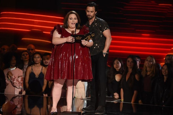 chrissy metz claps back over her mtv awards outfit. Black Bedroom Furniture Sets. Home Design Ideas