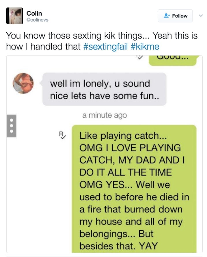 Dirty things to say while sexting