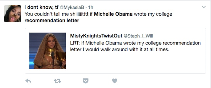 Naturally, Lots Of People Were In Awe    And Super Jealous    Of Shahidi  For Getting A College Recommendation Letter From Obama.