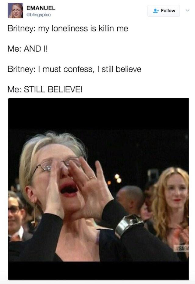 The Meryl Streep Yelling Meme Origin And Examples