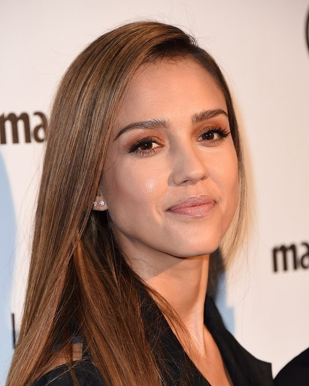 Interview Jessica Albas Hack For Over Plucked Eyebrows