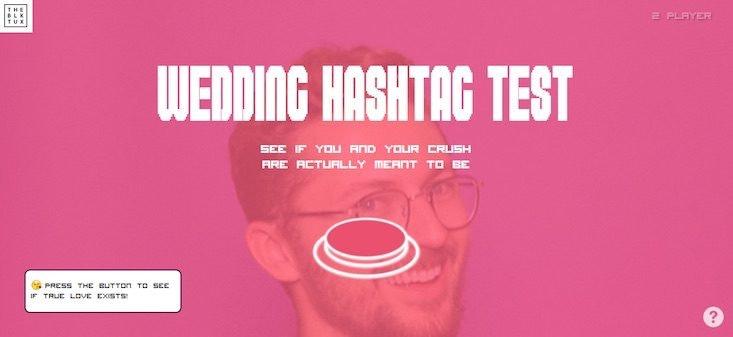Online társkereső hashtagek