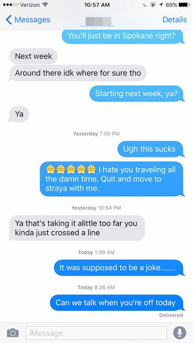 The Girl Who Was Ghosted By Her Guy After Making One Dumb Joke