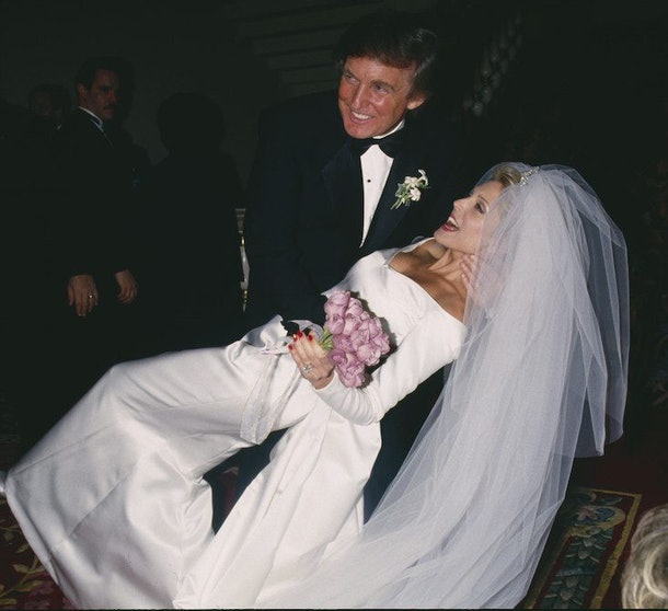 Photos Of Donald Trumps Weddings Show They Were Extravagant Affairs