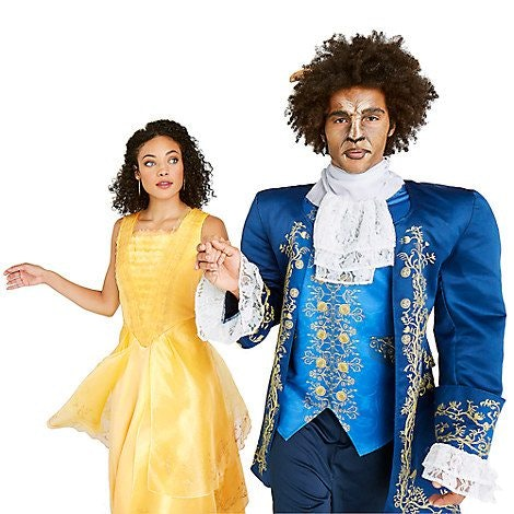 Beauty and the beast costumes to do with your so this halloween the disney store beast costume solutioingenieria Gallery