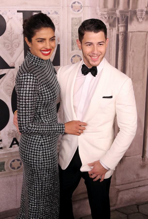Nick Jonas & Priyanka Chopra at Ralph Lauren's 50th anniversary celebration