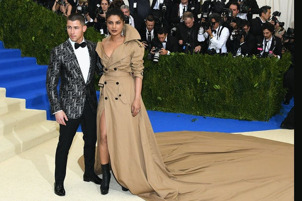 Nick Jonas & Priyanka Chopra at the 2017 Met Gala