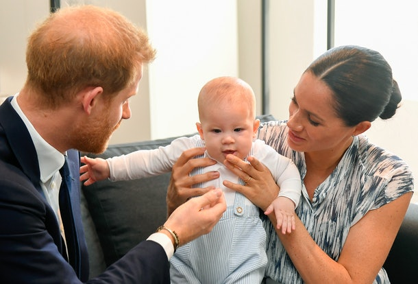 Meghan Markle, Prince Harry, and Baby Archie in South Africa