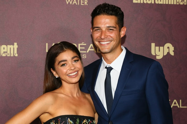 Sarah Hyland and Wells Adams are an astrologically incompatible celebrity couple