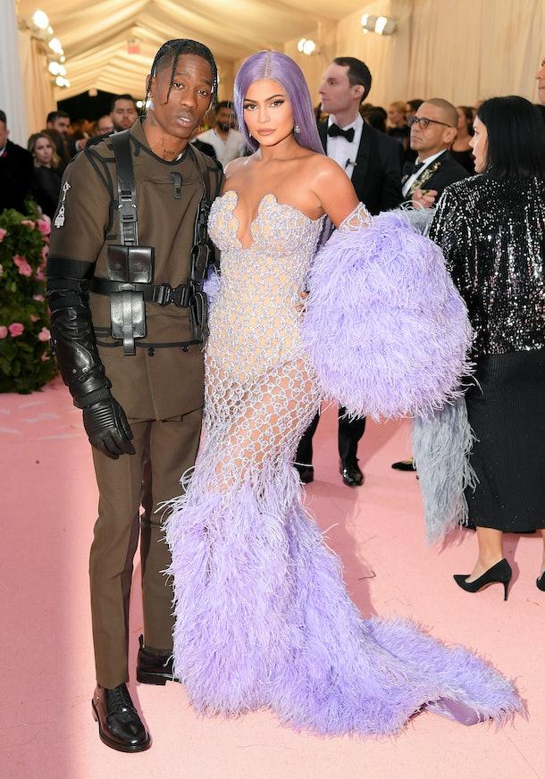 Travis Scott and Kylie Jenner stun at 2019 Met Gala