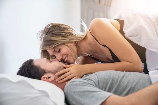 If you want to talk to your partner about how often you have sex, make talking about sex a regular thing